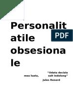 Personalitatile obsesionale
