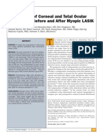 Gatinel D Et Al. Comparison of Corneal and Total Ocular Aberrations Before and After Myopic LASIK. J Refract Surg. May 2010