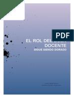 Rol Del Buen Docente