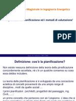Pianificazione ed Metodi Di Valutazione_2014