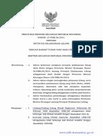 Peraturan Menteri Keuangan No. 27/PMK0.6/2016