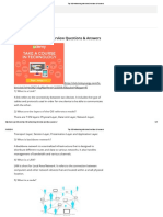 Networking Interview Questions Pdf