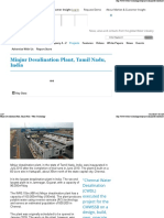 Minjur Desalination Plant, Tamil Nadu - Water Technology2