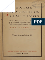 Textos Eucarísticos Primitivos 1