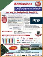 B tech ECE Admission 2016 - The Northcap University
