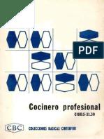 Colecciones Básicas Cinterfor (CBC) - Cocinero Profesional