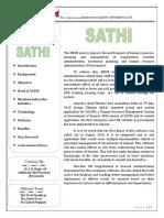 Newsletter SATHI