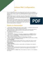 MS SQL Database Mail Configuration