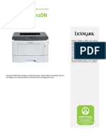 Lexmark Ms312DN Mon Laser Printer