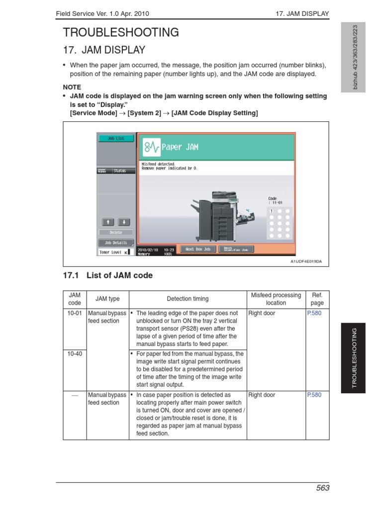 minolta bizhub 363 423 troubel service manual charge coupled rh es scribd com konica minolta bizhub 600 service manual free download bizhub 750/600 field service manual