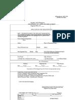 Application Form Public Sector Union Blank