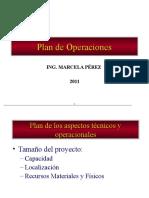 2. Plan de Los Aspectos Tecnicos y Operacionales