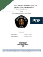 Review Perbandingan Kualitatif Dan Kuantitatif
