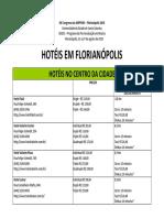 Lista Hoteis