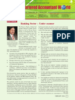 Banking Sector – Under Scanner