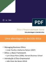 Analise de Etica e Responsabilidade Social