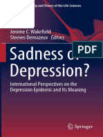 Sadness or Depression International Perspectives on the Depression Epidemic and Its Meaning