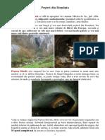 Peșteri Din România