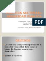 Politica Sectorial