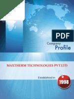 Maxtherm Company Profile