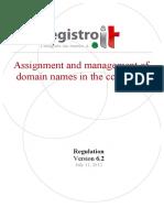 Regulation Assignation v6.2