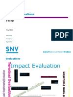 impact evaluations presentation