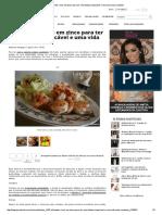5 Alimentos Ricos Em Zinco