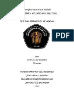 Opsi Dan Manajemen Keuangan