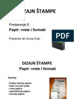 Dizajn Stampe Papir