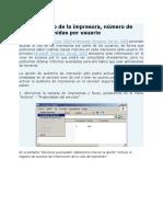 Auditar El Uso de La Impresora Con Active Directory