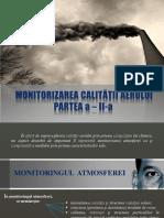 Curs Nr. 4 - Monitorizarea Calitatii Aerului (Partea II)