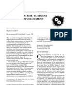 EMS MODELS FOR BUSINESS STRATEGY DEVELOPMENT