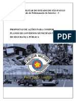 Plano Municipal de Segurança Pública