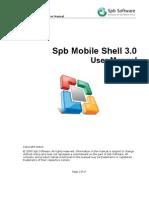 Spb Mobile Shell 3.0 User Manual