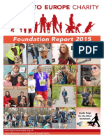 Light Into Europe Foundation Report 2015