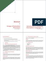 Hardware Descriptive Languages