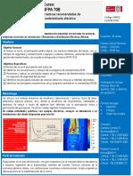 Descriptor NFPA 70B 16 H