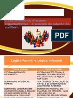Argumentacao e Lógica Formal-procura de Adesao Do Auditorio