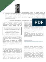 EL DOCUMENTALISMO FOTOGRAFICO