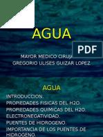 Agua Como Elemento Quimico