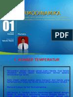 Konsep Energi Dan Temperatur