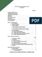 Outline Skripsi Dan KTI