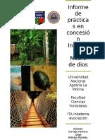 Informe de Practicas Inkaterra 2015