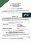 PNP Entrance Examination Announcement