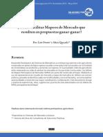 ¿Cómo facilitar Mapeos de Mercado que resulten en propuestas ganar-ganar?