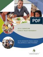 2016 Public Trust Research Report