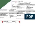Ficha de Metacognicion Primaria