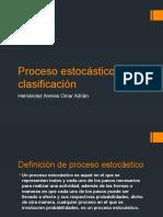 Proceso Estocástico y Clasificación