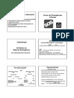 Curso Emergencia Clinicas - Arritmias 2015 Med Cel
