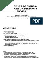 Conferencia de Prensa 08022016